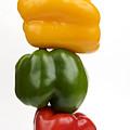 Three Peppers by Bernard Jaubert