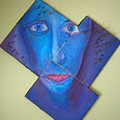 Three Piece Wired Blue Face
