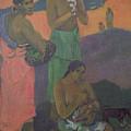 Three Women On The Seashore by Paul Gauguin