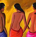 Three Women With Tattoos by Sweta Prasad