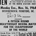 Ticket To World Championship Boxing by Everett