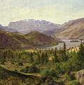 Tile Fjord by Louis Gurlitt