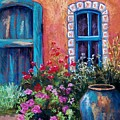 Tiled Window by Candy Mayer