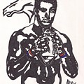 Tim Tebow 2 by Jeremiah Colley