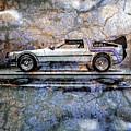 Time Machine Or The Retrofitted Delorean Dmc-12 by Bob Orsillo