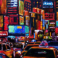 Times Square by Debra Hurd