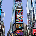 Times Square Nyc by Kelley King