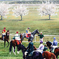 To The Gate At Keeneland by Thomas Allen Pauly