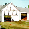 Tobacco Barn by Dale Ziegler