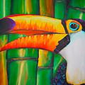 Toco Toucan by Daniel Jean-Baptiste