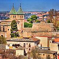 Toledo Town View Print by Joan Carroll