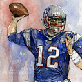Tom Brady by Michael  Pattison