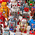 Toy Robots by Garry Gay