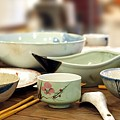 Traditional Chinese Dinner Table by Yali Shi
