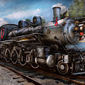 Train - Steam - 385 Fully Restored  by Mike Savad