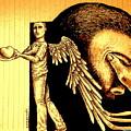 Tray  I Give You My Heart by Paulo Zerbato