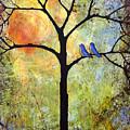 Tree Painting Art - Sunshine by Blenda Studio