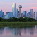Trinity River With Skyline, Dallas by Michael Fitzgerald Fine Art Photography of Texas