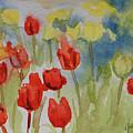 Tulip Field by Gretchen Bjornson
