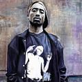 Tupac Shakur by Raymond L Warfield jr