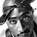 Tupac Shakur by Ylli Haruni