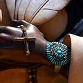 Turquoise Bracelet  by Susanne Van Hulst