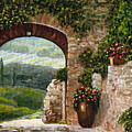 Tuscan Arch by Italian Art