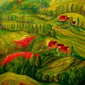 Tuscany At Dawn by Eloise Schneider