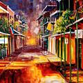 Twilight In New Orleans by Diane Millsap