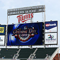 Twins Home Opener 2010 by Ron Read