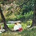 Two Seated Women by Mary Stevenson Cassatt