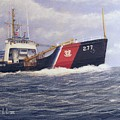 U. S. Coast Guard Buoy Tender by William H RaVell III