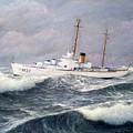 U. S. Coast Guard Cutter Taney by William H RaVell III