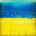 Ukraine Flag by Setsiri Silapasuwanchai