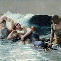 Undertow by Winslow Homer
