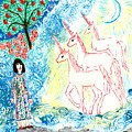 Unicorns Come Home by Sushila Burgess