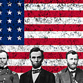 Union Heroes And The American Flag by War Is Hell Store