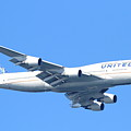 United Airlines Boeing 747 . 7d7852 by Wingsdomain Art and Photography