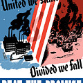 United We Stand Divided We Fall by War Is Hell Store