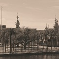University Of Tampa With Old World Framing by Carol Groenen