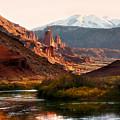 Utah Colorado River by Marilyn Hunt