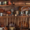 Utensils - What I Found In A Cabinet by Mike Savad