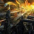 Utherworlds Battlestar by Philip Straub