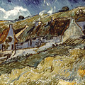 Van Gogh: Cottages, 1890 by Granger