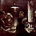 Van Gogh: Meal, 1885 by Granger