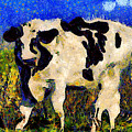 Van Gogh.s Big Bull . 7d12437 by Wingsdomain Art and Photography