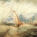 Van Tromp Going About To Please His Masters by J M W Turner