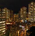 Vancouver Skyline by Nancy Harrison