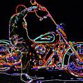Vato N' Harley Aglow by Kimberley Joy Ferren