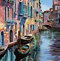 Venezia In Rosa by Guido Borelli
